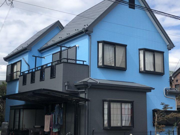埼玉県川口市 外壁塗装工事 屋根塗装工事 その他小工事