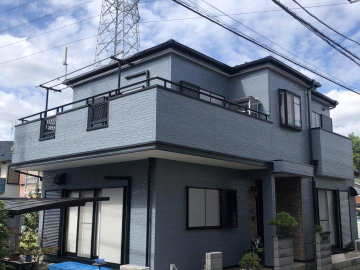 川口市H様邸 塗り替えリフォームで、近所でも一目置かれる存在に!