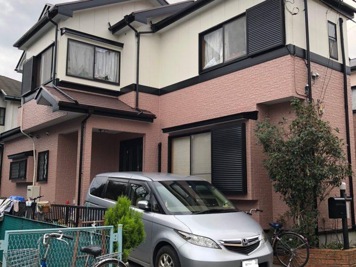 埼玉県さいたま市 外壁塗装・屋根塗装・雨漏り K様邸