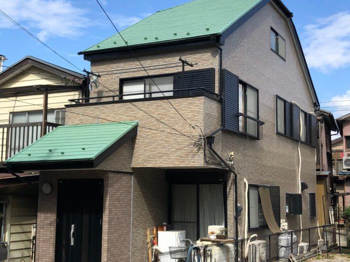 埼玉県さいたま市 漏水に伴う家屋改修塗装工事 U様邸