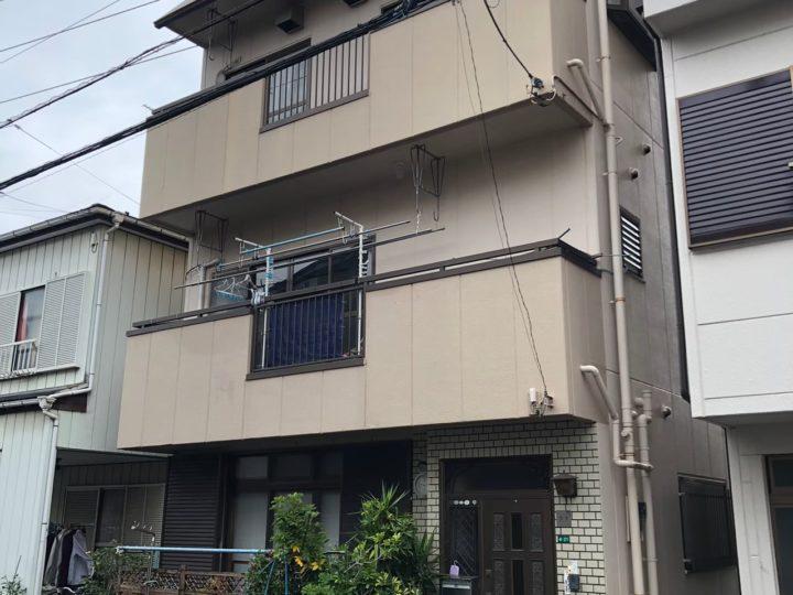 埼玉県川口市 外壁塗装および各所防水工事 K様邸(施工中)