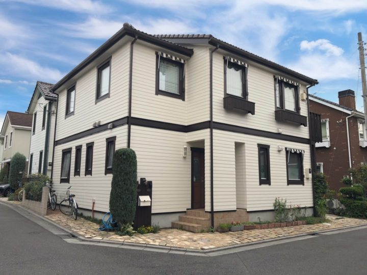戸田市Y様邸 ウッドデッキも塗装できます!オイルステインでそのまま綺麗に!