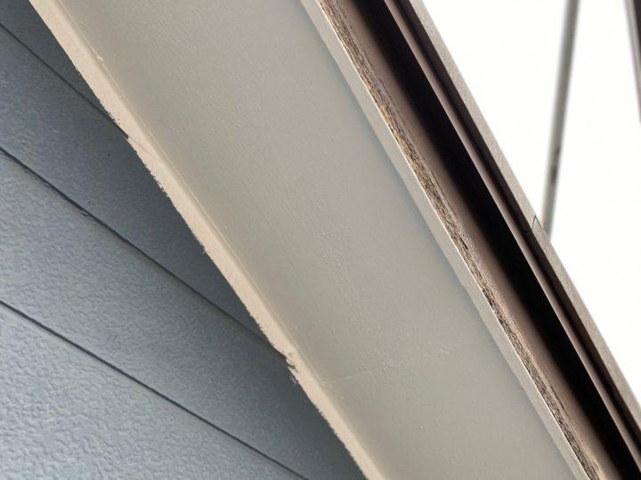 軒天井 上塗り完了