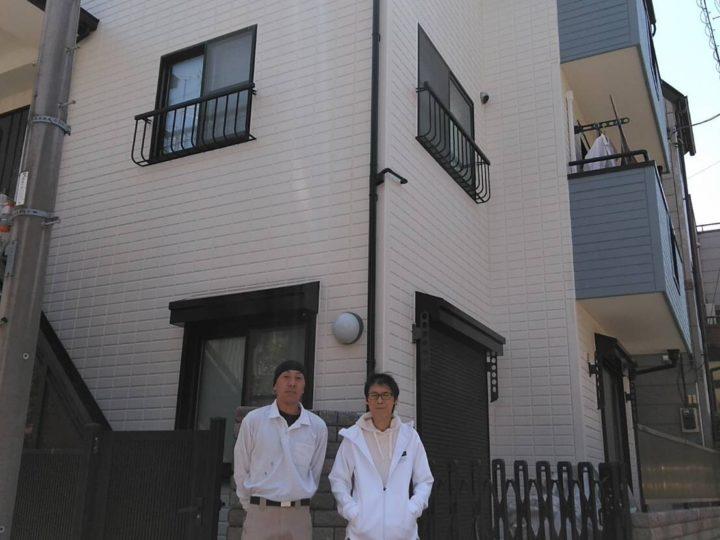 埼玉県蕨市/外壁塗装、屋根塗装
