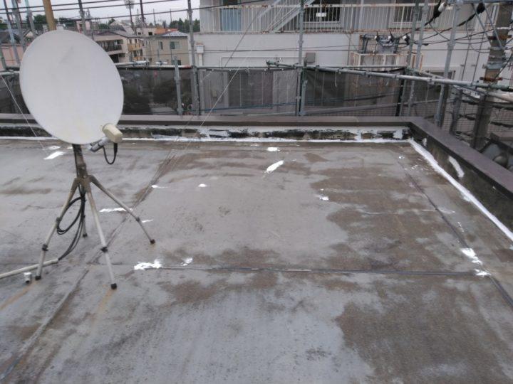 屋上陸屋根 下地補修