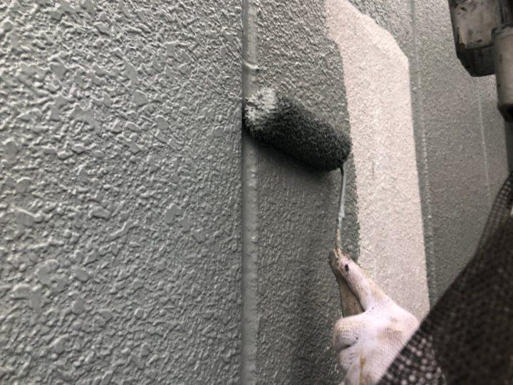 外壁(ALC) 中塗り
