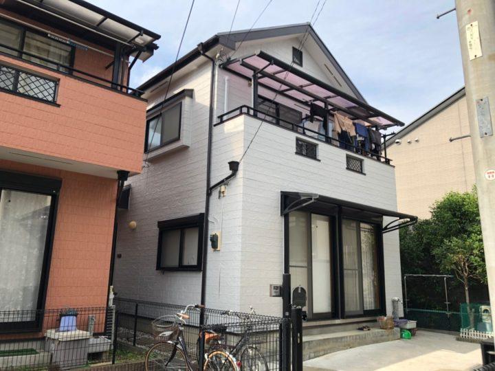 埼玉県さいたま市 家屋改修塗装工事 I様邸
