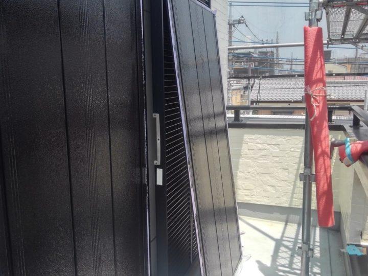 雨戸 塗装完了