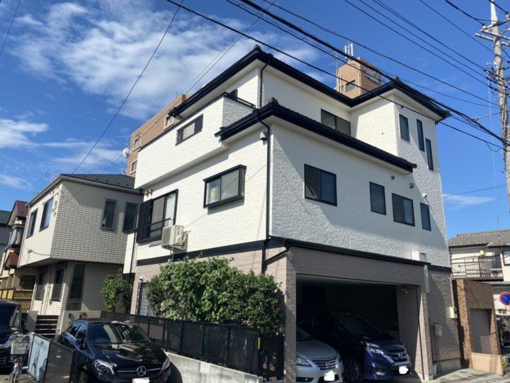 埼玉県川口市 家屋改修塗装工事 S様邸