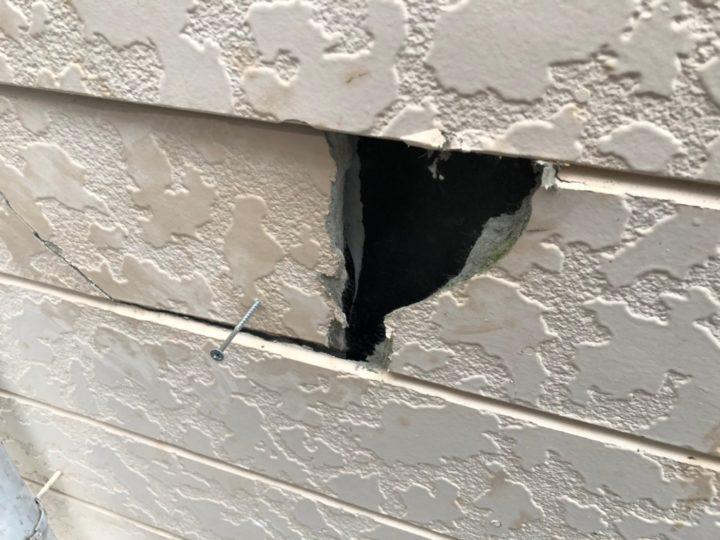 外壁 補修前