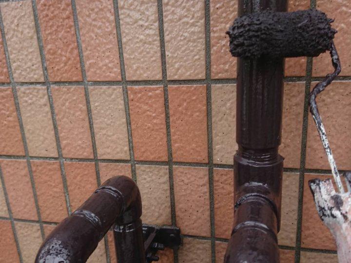 雨樋 塗装(2回目)