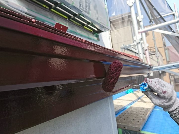 横樋 塗装(2回目)