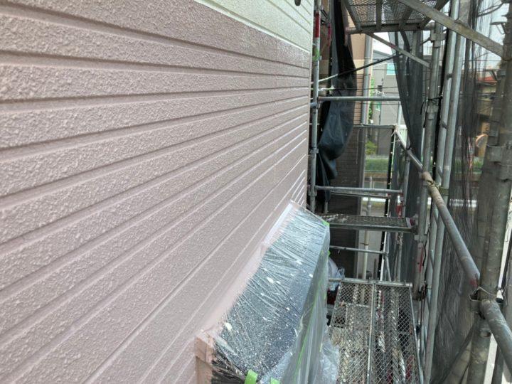 外壁 中塗り完了