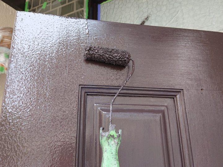 玄関扉 塗装