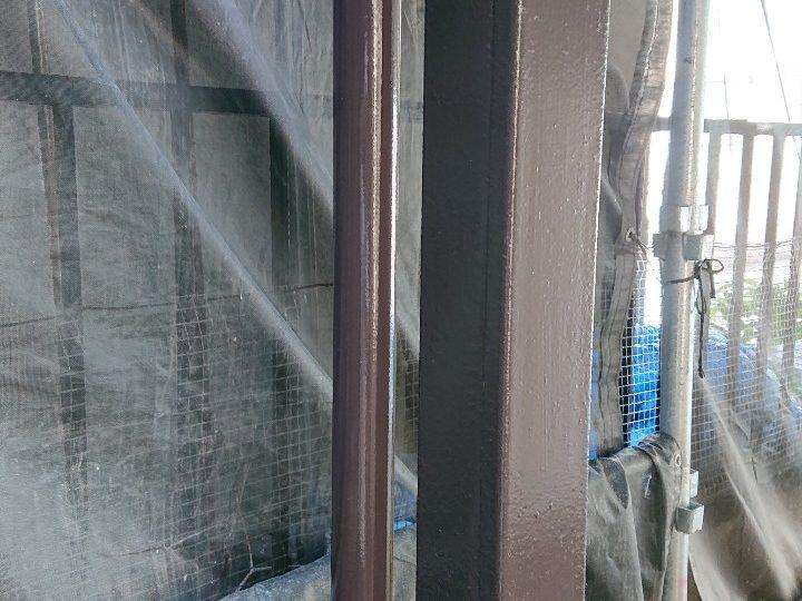 鉄部 塗装完了