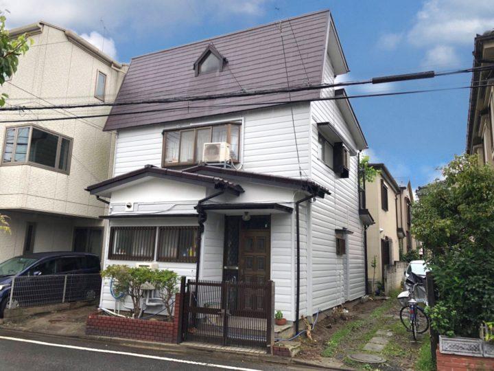 戸田市M様邸 複数種の下地もしっかり塗り分けいたします!