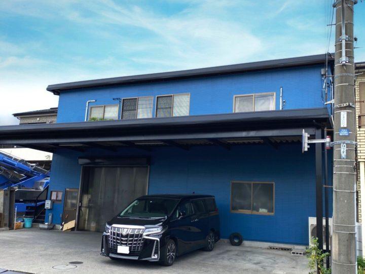 戸田市K様所有建物  折半屋根は遮熱・断熱のガイナにお任せ!