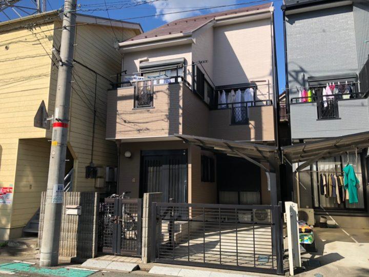 埼玉県蕨市/外壁塗装、屋根塗装 T様邸