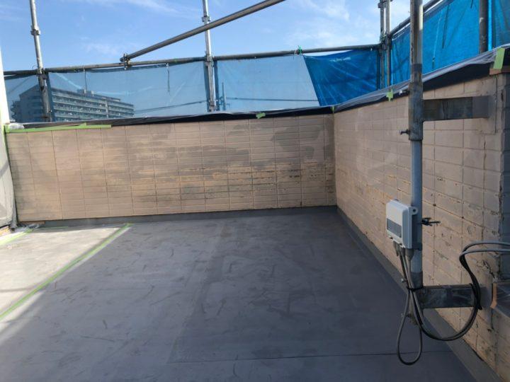 屋上陸屋根 外壁