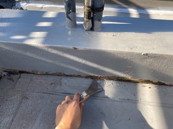 屋上陸屋根 端末シール