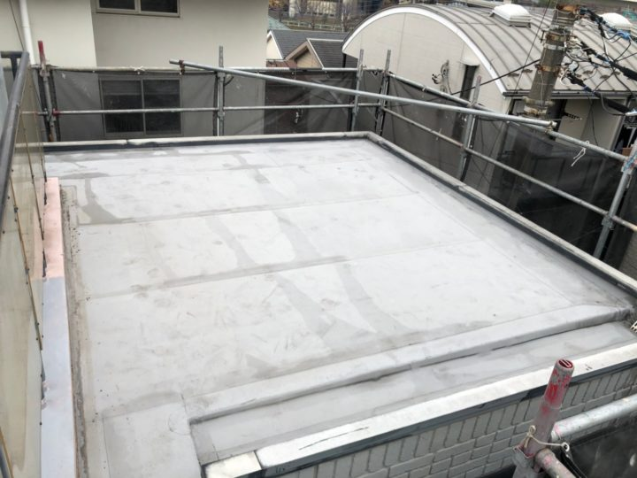 屋上陸屋根