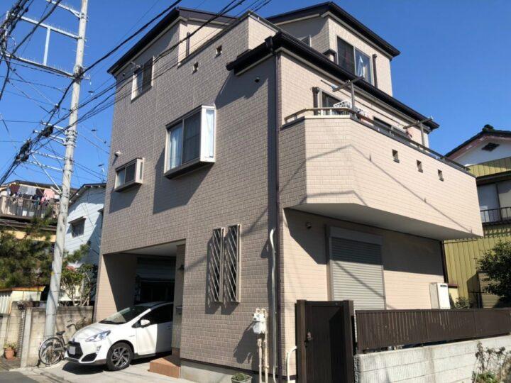 埼玉県川口市/外壁塗装、屋根塗装 F様邸