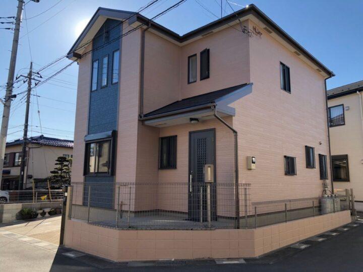 川口市I様邸 メリハリのある外観へ素敵なチェンジ!