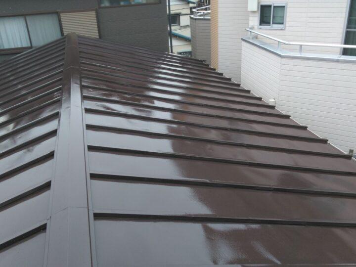 蕨市O様邸 屋根塗装もプロペイントにお任せください!