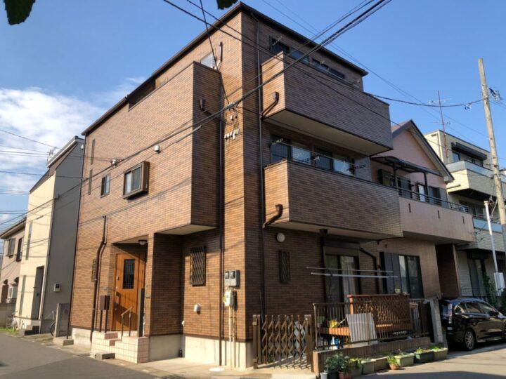 川口市S様邸 クリヤー塗装で外観そのまま美しく!