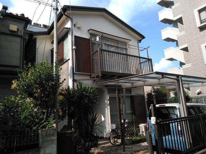 川口市H様邸 超低汚染リファインでしっかり綺麗に!
