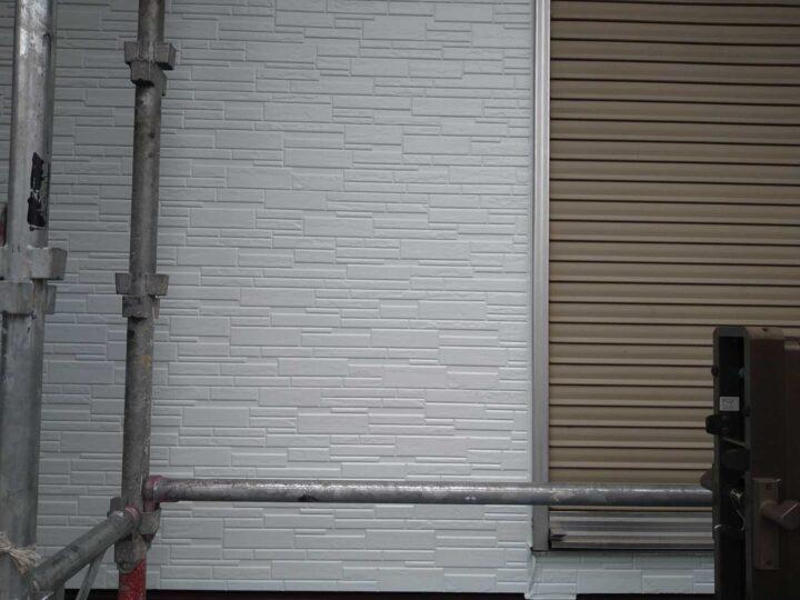 外壁 上塗り完了
