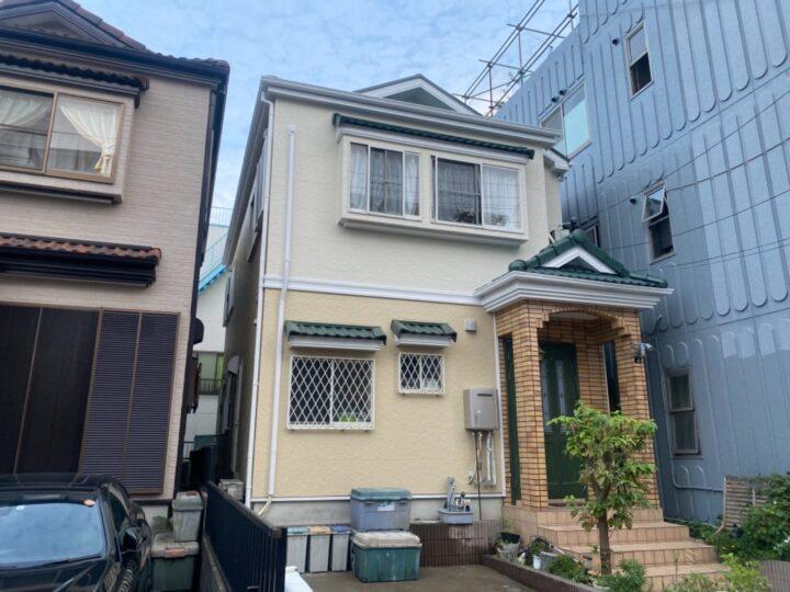 川口市T様邸 鮮やかカラーで塗り替えキレイ!