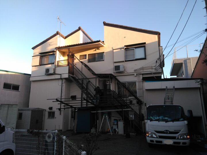 川口市K様邸 外壁・鉄部塗装で、美観性を回復します